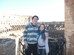 Third tier of the Colosseum